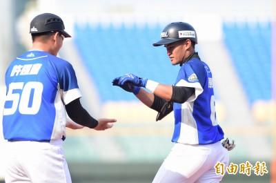 冬盟》李宗賢、岳東華包辦7安4打點 中職搶下季後賽首勝