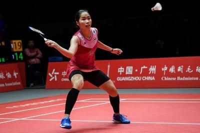 羽球年終賽》依瑟儂直落二晉級複賽 陳雨菲因傷退賽