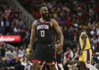 NBA》哈登砍50分、單場19罰 讓湖人波爾抱怨碰不得