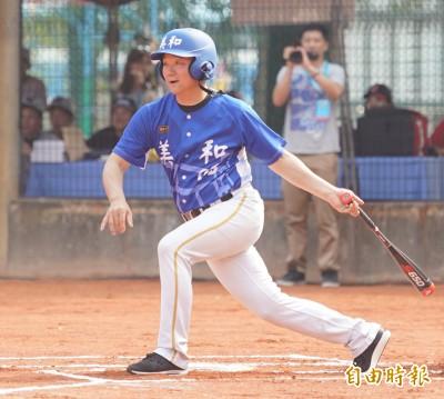 棒球》美和華興OB賽 洪一中單場兩支長打率美和大勝