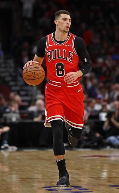 NBA》公牛狀況連連   「灌籃王」拉文踝傷將缺席兩場比賽