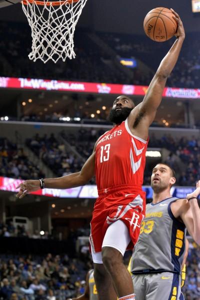 NBA》哈登連2場大三元 超越詹皇與喬丹神紀錄(影音)