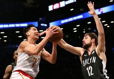 NBA》林書豪替補攻6分 老鷹不敵籃網苦吞三連敗