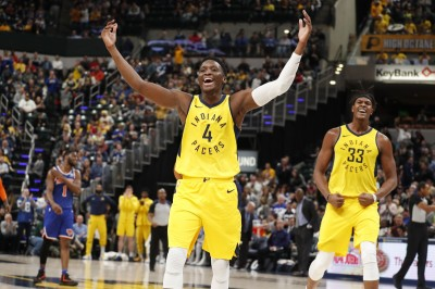 NBA》兩大主力合砍50分 溜馬勝尼克笑納7連勝