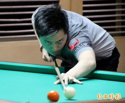 撞球世錦賽》柯秉逸、張榮麟奪冠大熱門 共同闖入32強