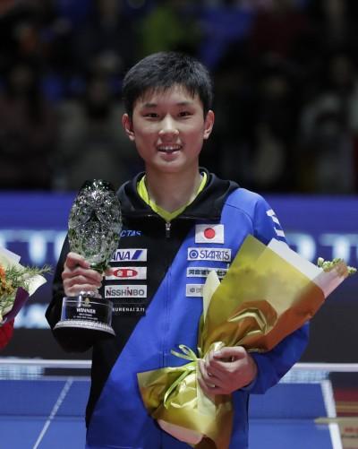 桌球》小孩打贏大人 日本「史上最強國中生」封王關鍵
