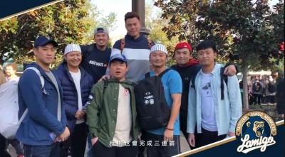 中職》桃猿隊友祝王柏融旅日順利 在台力拚三連霸(影音)
