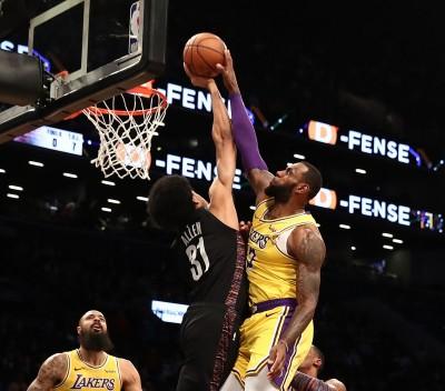 NBA》詹姆斯生涯9度灌籃遭阻 只有他能讓「詹皇」食二鍋