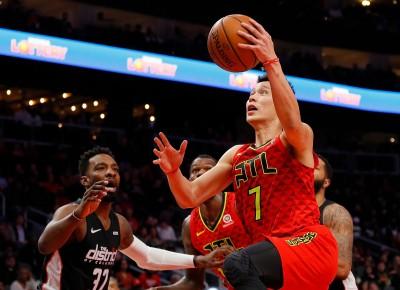 NBA》林書豪末節大爆發、全場16分 助老鷹中止3連敗