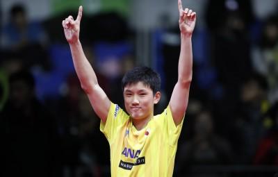 桌球》狂!「怪物少年」登世界第三 創日本第一人紀錄