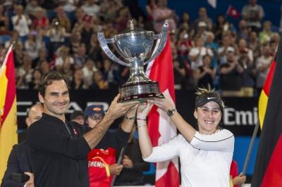 網球》男單沒人贏得了費爸 瑞士隊霍普曼盃成功衛冕