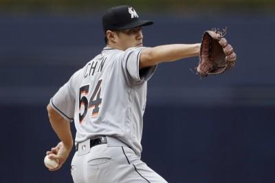 MLB》大聯盟官網預測 陳偉殷開季馬林魚第4號先發