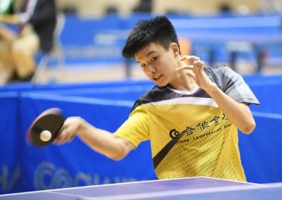 桌球》8戰全勝 16歲小將馮翊新亞青門票到手
