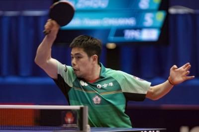 桌球》中國對手落後出「奧步」失格 莊智淵挺進匈牙利16強