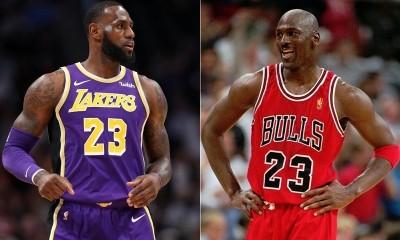 NBA》詹皇自認史上最偉大 喬丹一個字神打臉