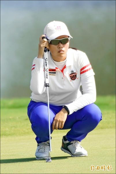 台灣女子高球公開賽》業餘衝第3 盧昕妤66桿寫生涯最佳