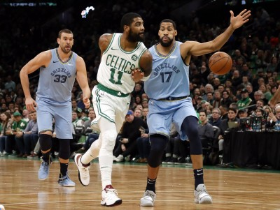 NBA》厄文個人秀!全場狂轟38分 綠衫軍擊退灰熊