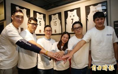 籃球》李奇勳、吳永仁成立籃球主題理髮廳 三民五虎齊聚相挺