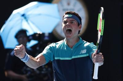 澳網》打到對手絕望! 重砲羅尼奇直落三闖進八強