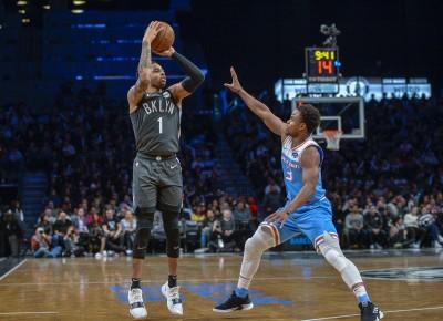 NBA》D.羅素砍31分8助攻 率籃網大勝國王