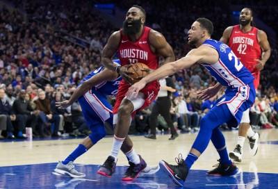 NBA》哈登連20場至少30分追平神紀錄 火箭卻慘敗七六人