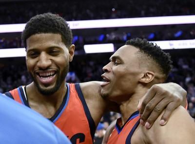 NBA》雙箭頭合力出擊 雷霆作客紐約踢館成功