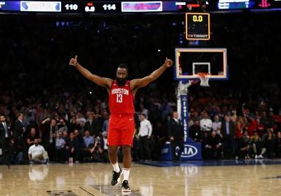 哈登轟61分追平老大紀錄 今日NBA戰績