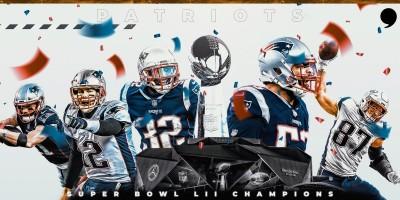 NFL》愛國者隊擊敗公羊隊 6座超級盃平史上最佳!