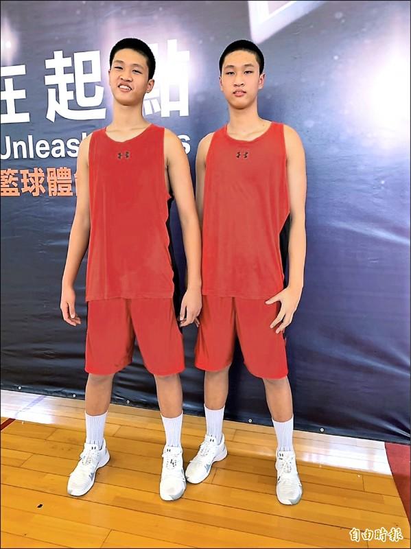 209公分還在長 國三雙胞胎想讀松山