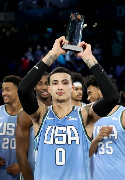 NBA明星賽》美國隊打趴世界隊復仇成功 湖人庫茲馬奪MVP