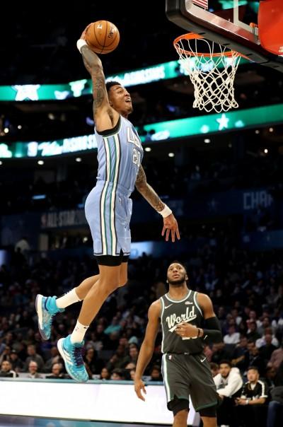 NBA》2大高手傳授祕訣 老鷹新星劍指灌籃大賽冠軍