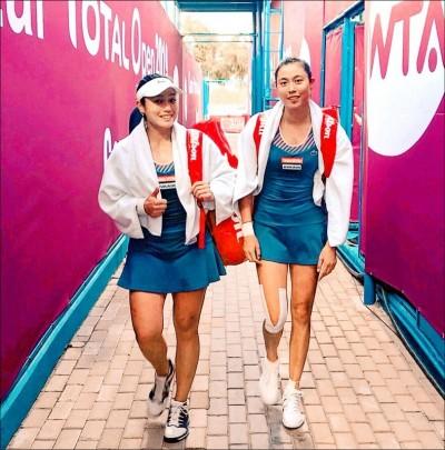 網球》詹家姊妹睽違3年再拚杜哈冠軍 雙打決賽今晚8點半開打