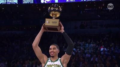 NBA》驚奇「Logo Shot」 塞爾提克塔圖姆稱霸技術挑戰賽