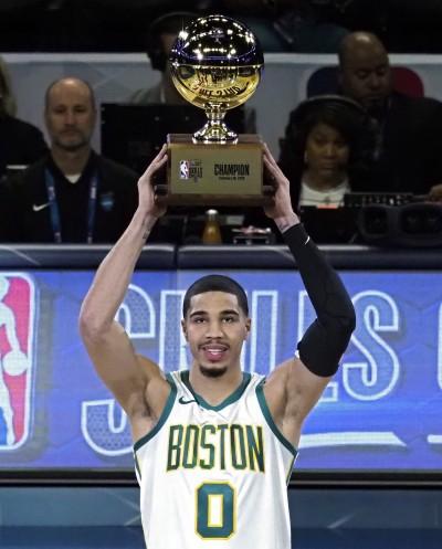 NBA》塔圖姆信心爆棚:「今年的總冠軍會是塞爾提克」