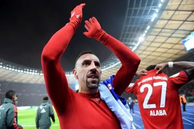 足球》拜仁三冠王功臣 里貝利季末將何去何從?