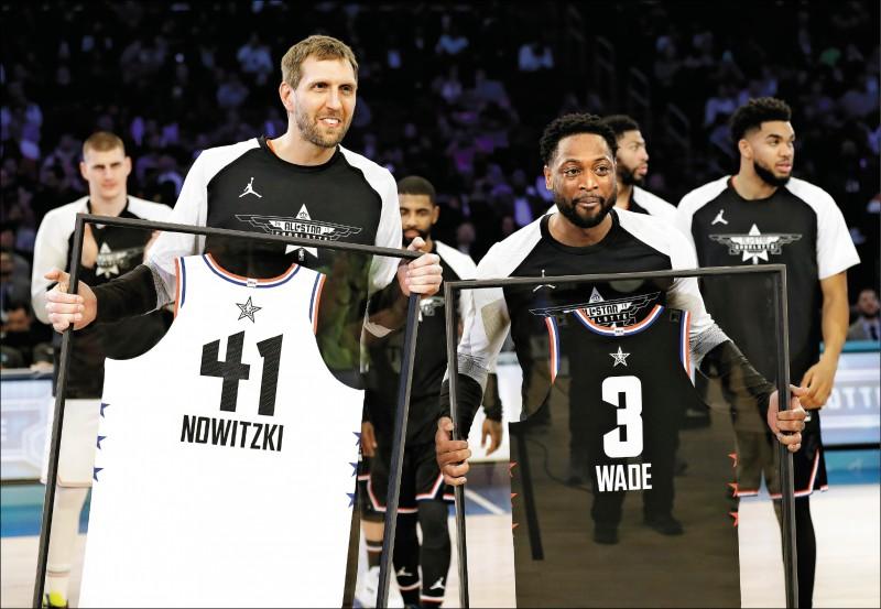 NBA明星賽》諾威斯基、魏德 上演傳奇告別秀