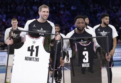 NBA》明星賽首創「特別增額」 兩大傳奇球星充滿感謝
