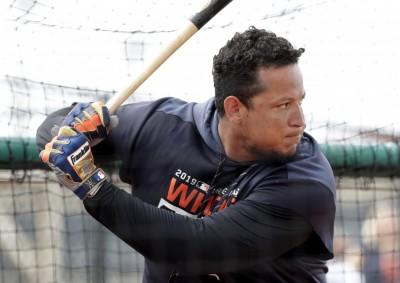 MLB》傷後首次站上打擊區 卡布雷拉開季可能轉任DH