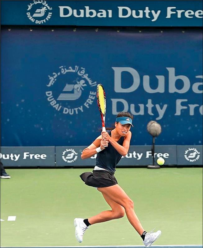 杜拜女網賽》謝淑薇1日2勝 下戰可能對柯珀