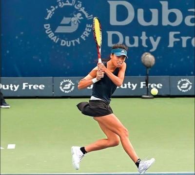網球》扳倒前球后柯珀!謝淑薇杜拜女網挺進8強