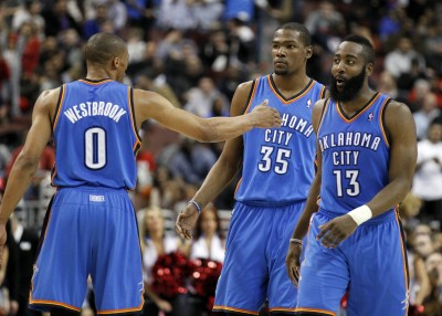 NBA》回憶當年雷霆三少 魏少:若還同隊會是其他球隊的難題