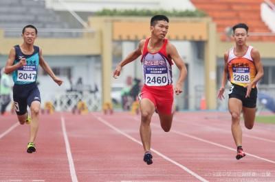 田徑》史上最快國中生! 15歲200公尺衝21秒65