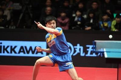 日本T聯賽》台灣一哥之爭 林昀儒技壓莊智淵
