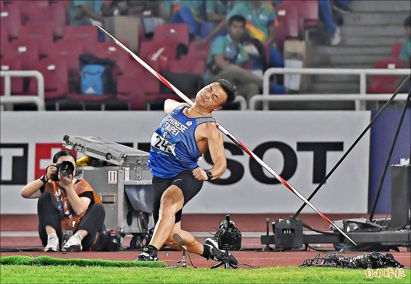 近83公尺擲破港都盃紀錄 鄭兆村:及格
