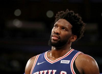 NBA》七六人傷兵多 恩比德至少缺陣一週