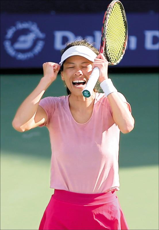 杜拜女網賽》連克2前球后 謝淑薇晉4強