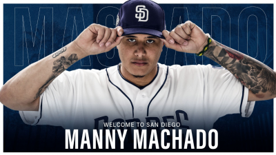 MLB》馬查多擁6隊不可交易條款 教士13號球衣提前開賣