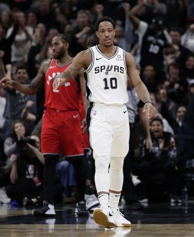 NBA》重返暴龍主場 德羅森:我必須向前看