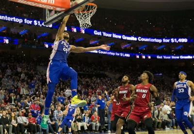 NBA》恩比德缺陣無礙! 「巨神兵」率七六人滅火