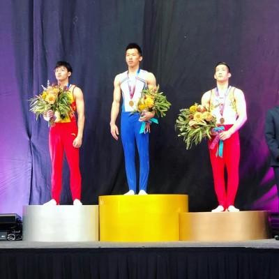 體操》「鞍馬王子」李智凱新年首戰 在墨爾本擊敗中國勁敵奪金